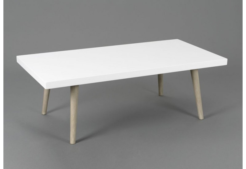 Table basse bois brut blanc - Table basse bois blanc ...