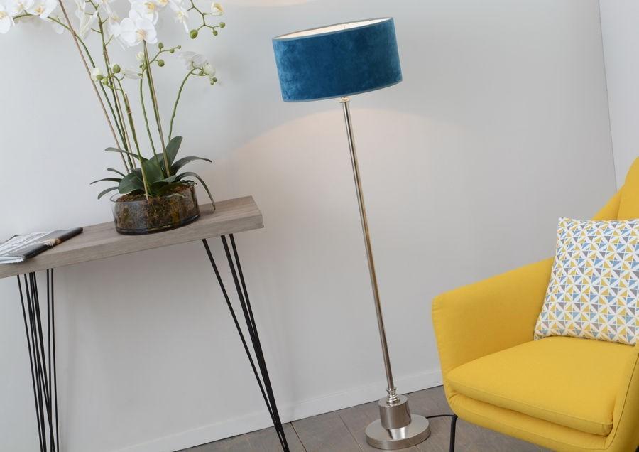 lampadaire bleu awesome lampadaire grasshopper grossman. Black Bedroom Furniture Sets. Home Design Ideas