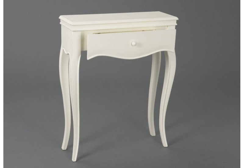 petite console shabby chic 1 tiroir alice amadeus amadeus 19377. Black Bedroom Furniture Sets. Home Design Ideas