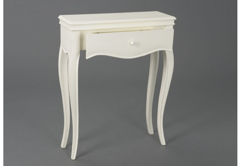 petite console shabby chic 1 tiroir alice amadeus amadeus am 115263. Black Bedroom Furniture Sets. Home Design Ideas