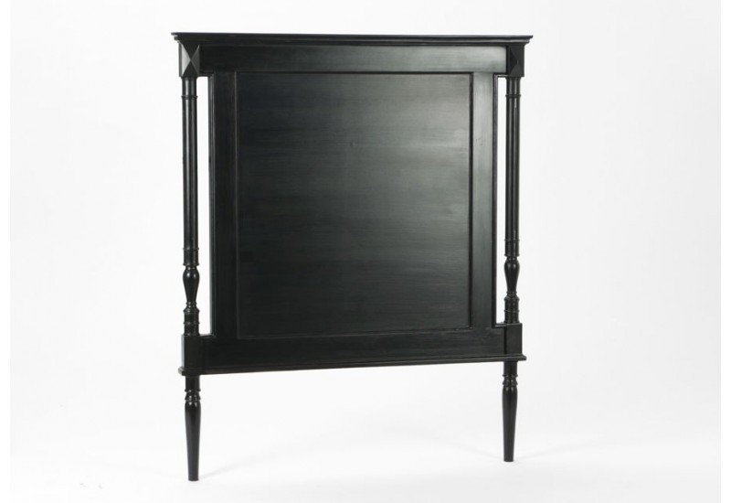 t te de lit 90 cm noire bruges amadeus amadeus am 115869. Black Bedroom Furniture Sets. Home Design Ideas
