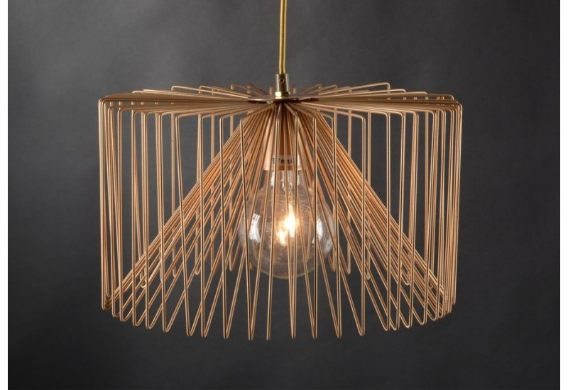 Suspension scandinave filaire or amadeus amadeus 19947 for Suspension luminaire filaire
