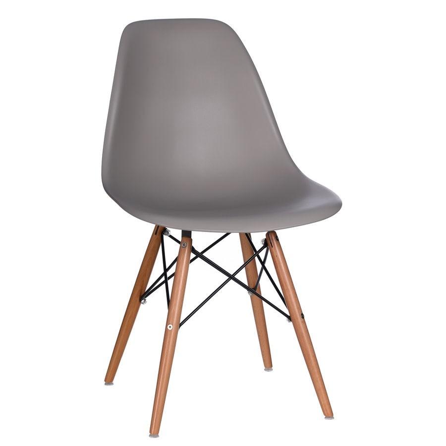 chaise bacquet vintage gris fonc style rtro scandinave 4650 x 45 - Chaise Grise Scandinave