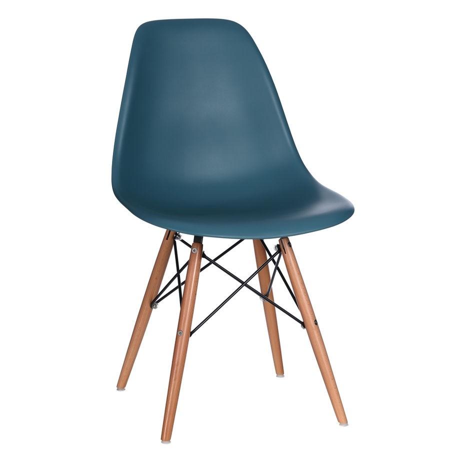 chaise bacquet vintage bleu ocan style rtro scandinave 4650 x 45 - Chaise Scandinave Bleu