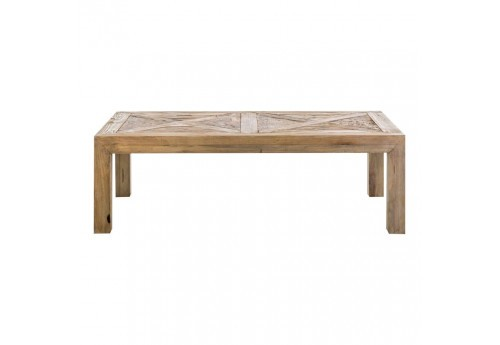 Table basse rectangulaire sculptée naturel Vical Home