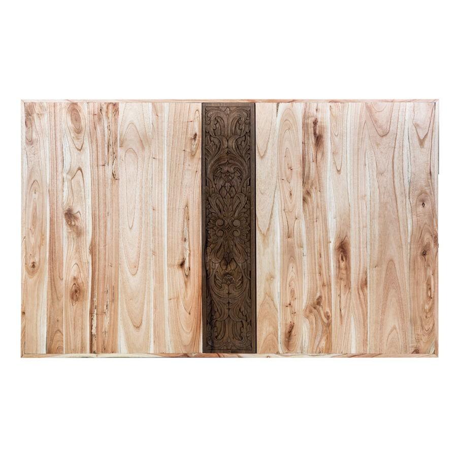 100 lit double bois naturel u2013 lit mezzanine bois blanc personnes l - Tete de lit en bois brut a peindre ...