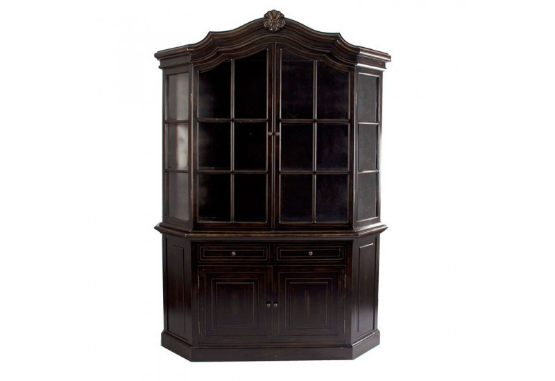 vaisselier en bois noir vical home vical home 20493. Black Bedroom Furniture Sets. Home Design Ideas