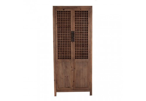 Armoire 2 portes naturel exotique Vical Home