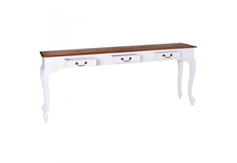 console drapier romantique en bois blanc aixi 20741. Black Bedroom Furniture Sets. Home Design Ideas