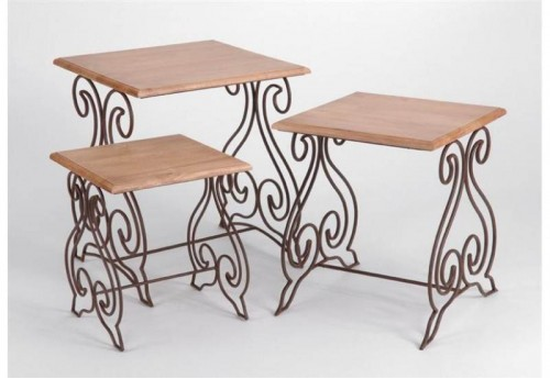 Set de 3 Tables Sicile AMADEUS
