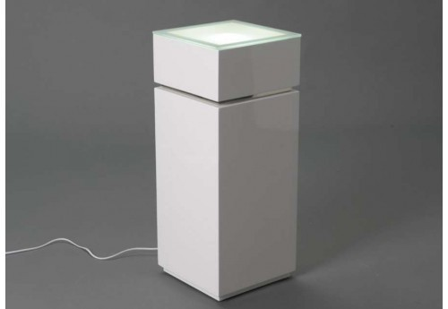 Sellette moderne lumineuse blanche