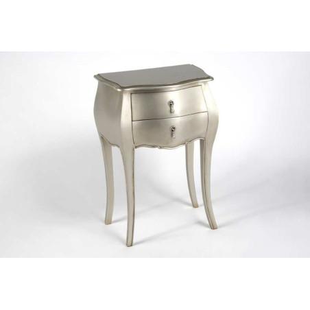 Table Téléphone Murano Silver