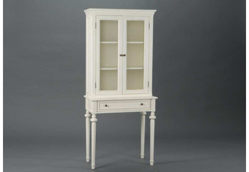 vaisselier patin e blanc perle amadeus 21784. Black Bedroom Furniture Sets. Home Design Ideas