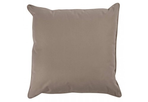 coussin d houssable beige avec fermeture clair 45x45cm j line by j. Black Bedroom Furniture Sets. Home Design Ideas