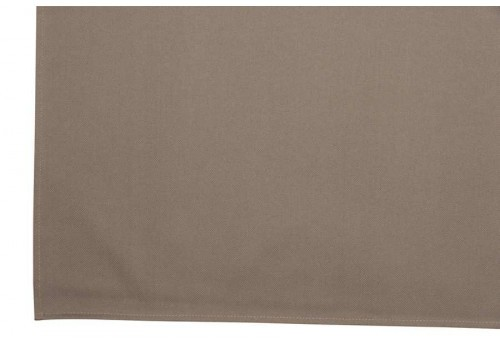 Nappe en polyester rectangulaire Taupe 145X250Cm