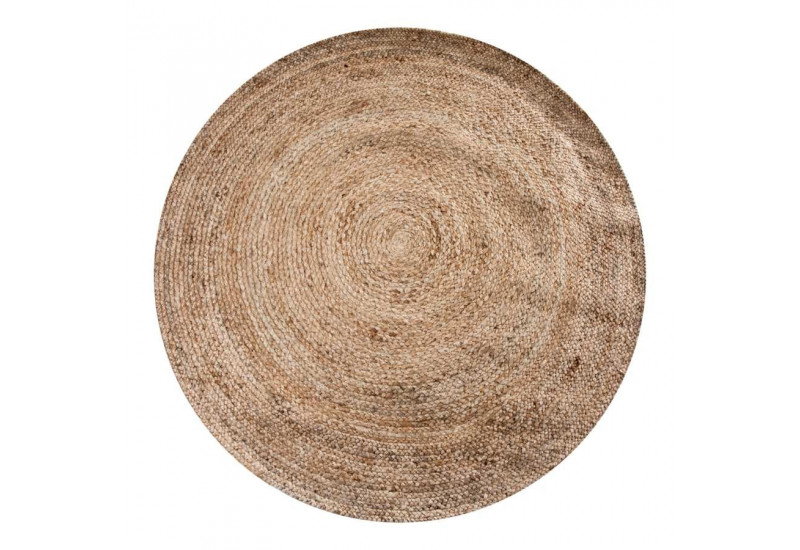 tapis rond en jute 220cm vical home 22577. Black Bedroom Furniture Sets. Home Design Ideas