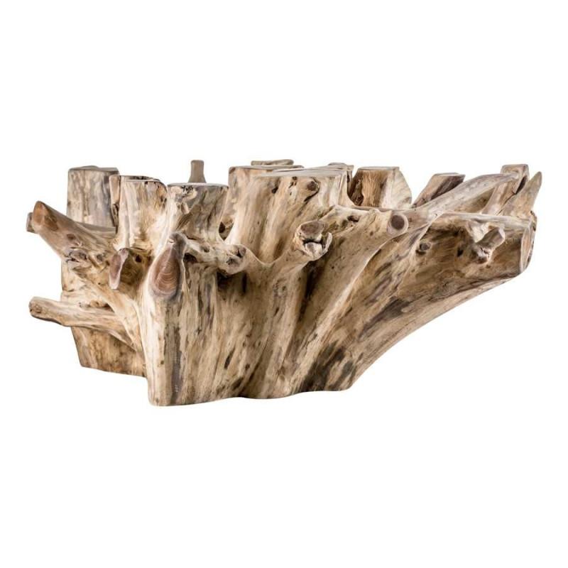 table basse de style nature en bois flott massif vical home vh 21607. Black Bedroom Furniture Sets. Home Design Ideas