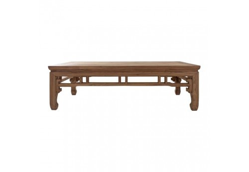 Table de salon rectangulaire chinoise brut Vical Home