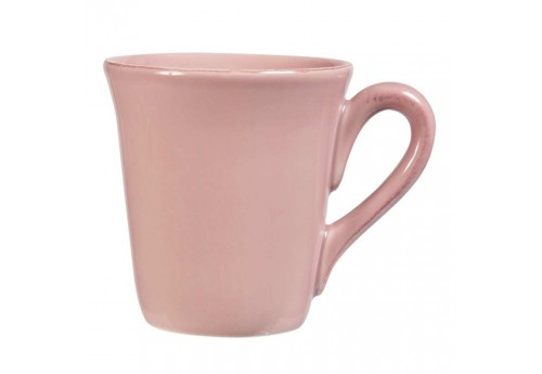 Mug américain en faïence collection Constance 40cl rose Coté Table (Lot de 6)