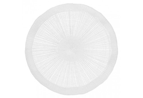Set table soleil d38cm blanc Coté Table (Lot de 6)