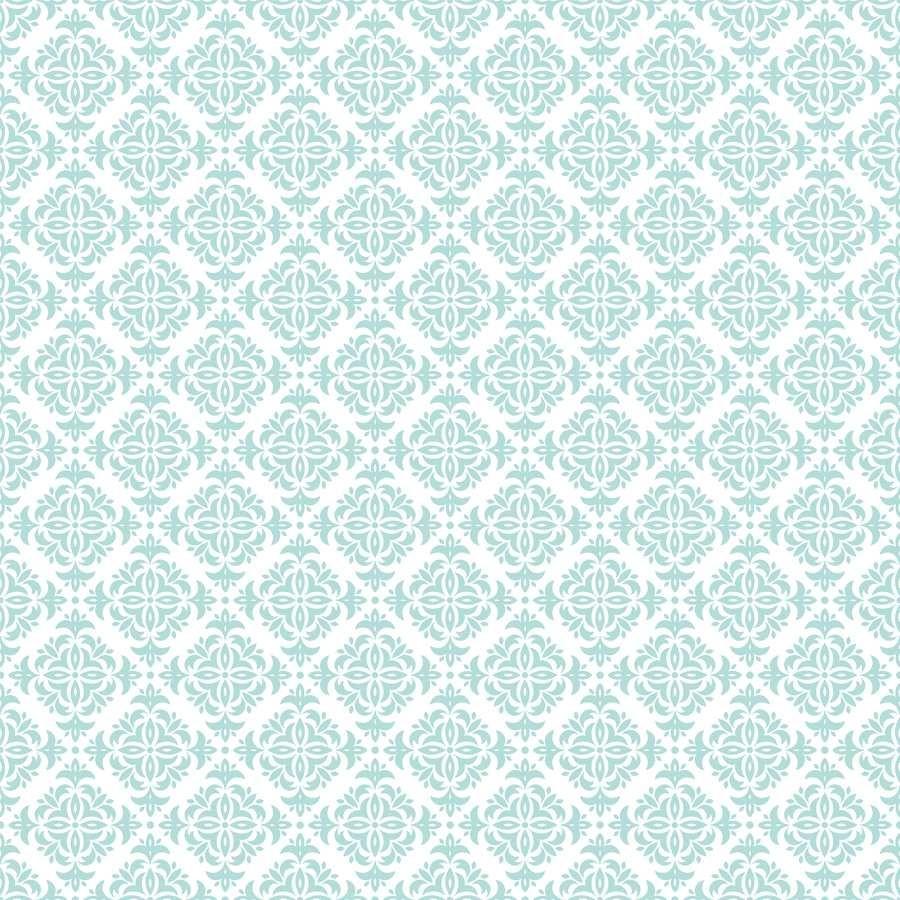 set de table visuel baltique en coton enduit 50x38 cm vert deau co - Set De Table Scandinave