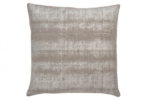 coussin brillant coton argent gris 45x45cm j line by. Black Bedroom Furniture Sets. Home Design Ideas