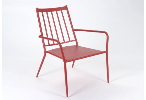 Fauteuil moderne rouge EPOXY