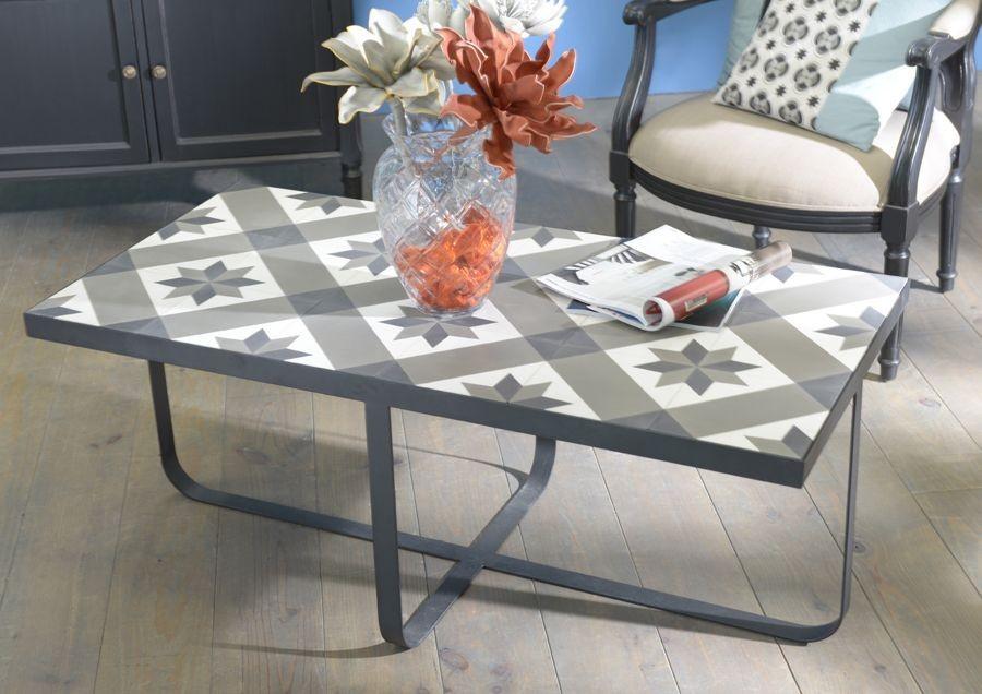 table en ciment