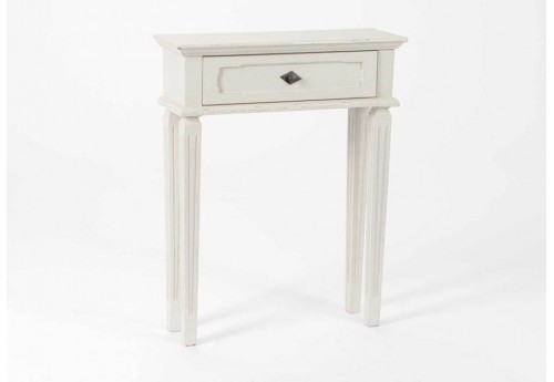petite console c rus gris clair effile amadeus 26118. Black Bedroom Furniture Sets. Home Design Ideas