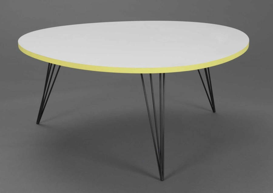 Emejing table basse blanc style marin pictures amazing for Table ronde design scandinave