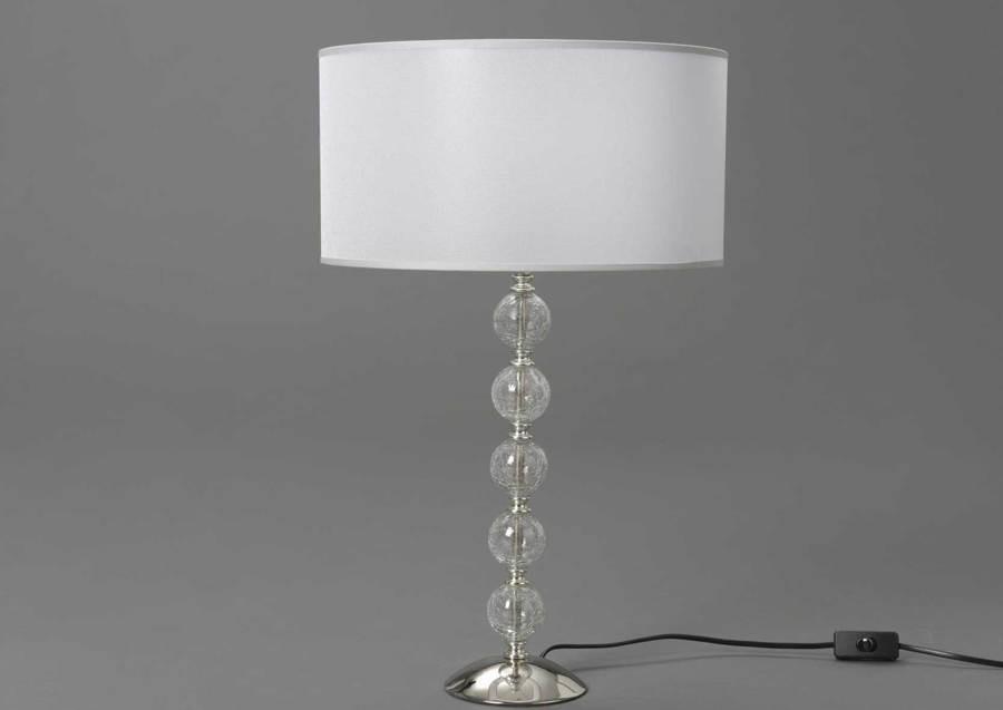 Lampe De Chevet Boule Blanche Src08