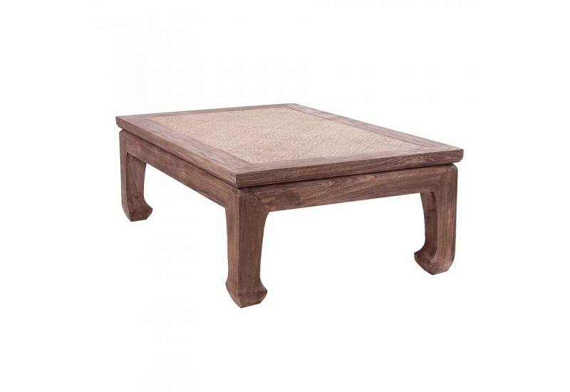 Table basse en bois exotique 150CM Vical Home
