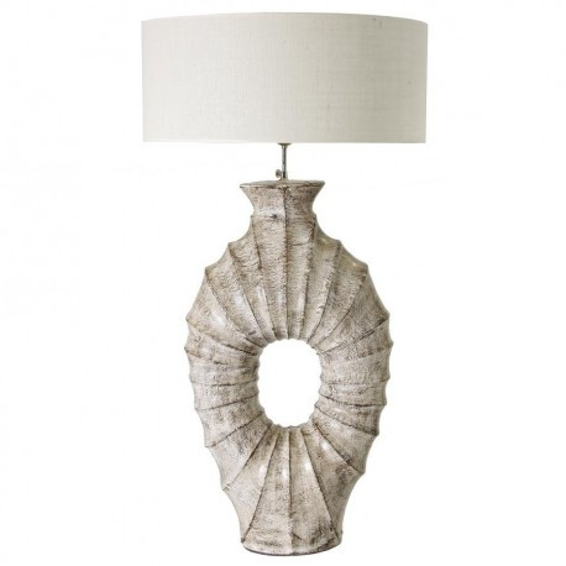 lampe haute poser avec abat jour rond vical home 27902. Black Bedroom Furniture Sets. Home Design Ideas