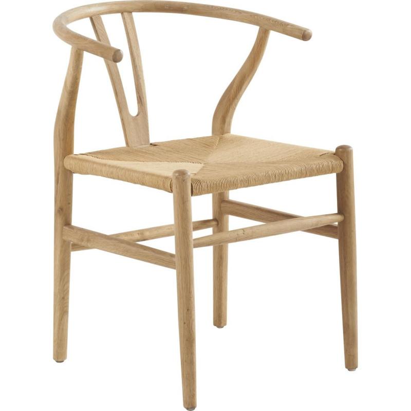 chaise exotique en bois naturel shanghai 56x58xh79cm lot de 2 han. Black Bedroom Furniture Sets. Home Design Ideas
