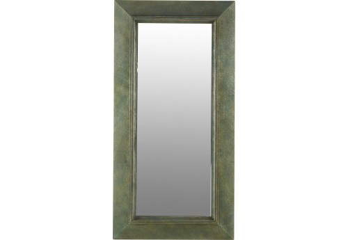 Grand miroir rectangulaire en bois vieilli 94xh187cm for Grand miroir large