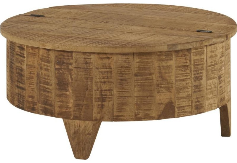 Table basse visuel fromag re en manguier d75xh35cm hanjel 28269 - Table basse jardin d ulysse ...