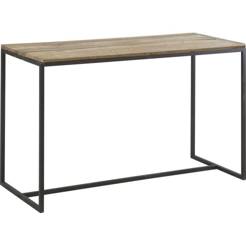 mange debout rectangulaire indus huston noir brun 180x75xh108cm han. Black Bedroom Furniture Sets. Home Design Ideas