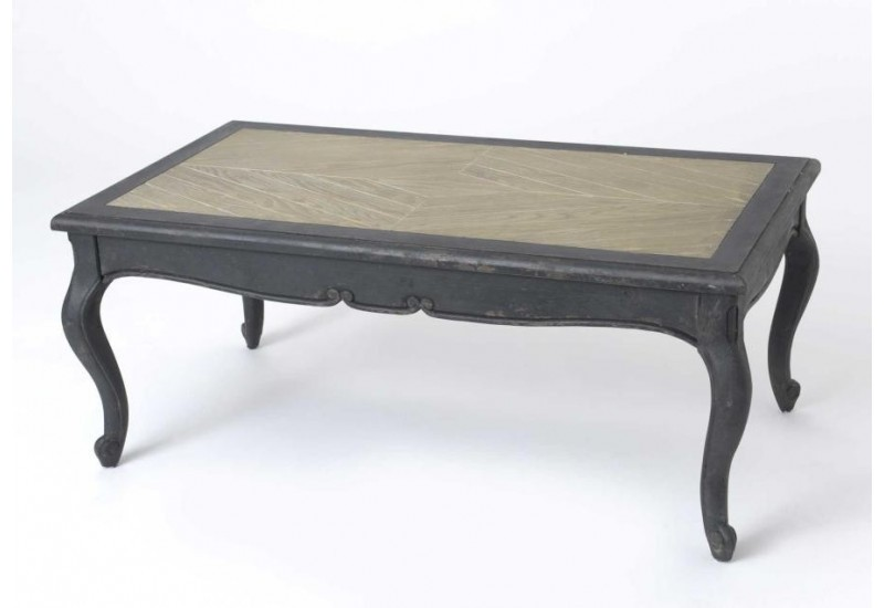 table basse chic galb e bois noir amadeus 29522. Black Bedroom Furniture Sets. Home Design Ideas