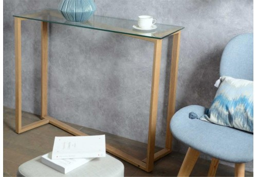 Console Moderne Verre
