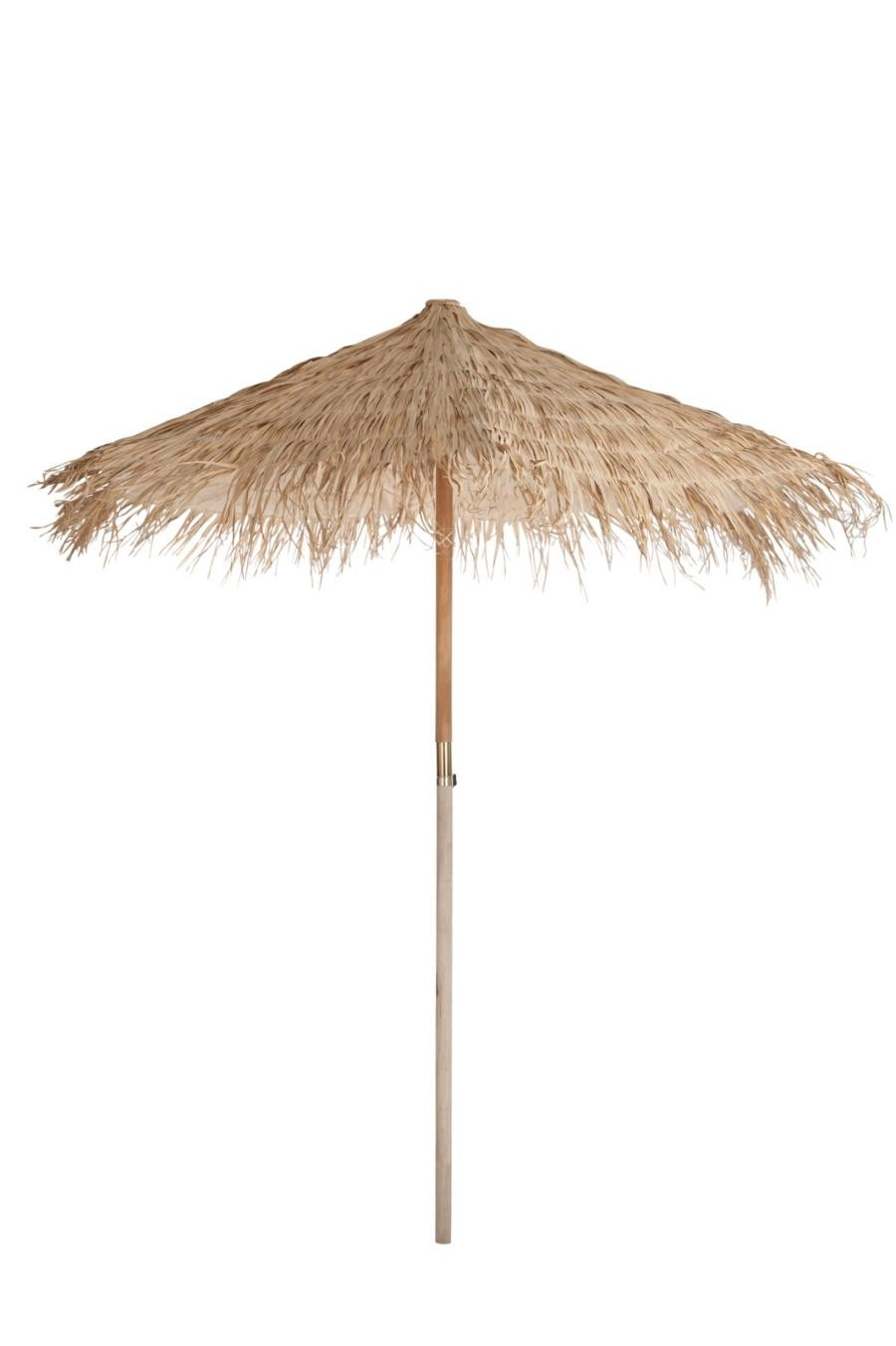 Grand Parasol Paille Naturel 250X250X270Cm J Line by Jolipa JL 71137