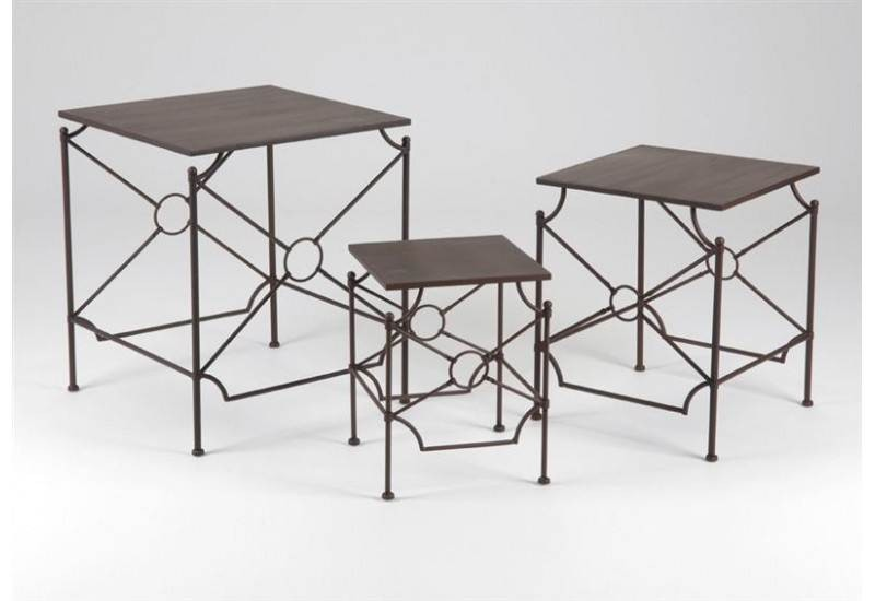 Set de 3 Tables Auteuil