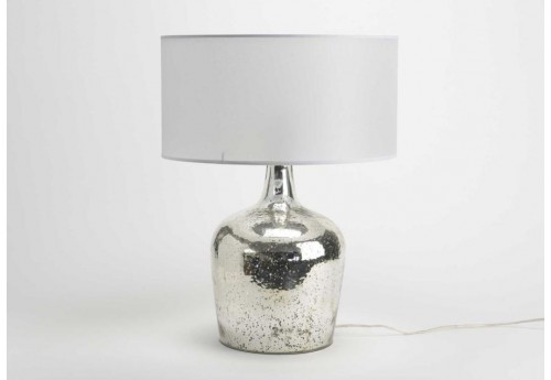 Lampe de table Julia chrome abj nacre