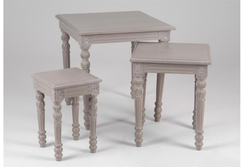 Set de 3 Tables Gigognes Emeline