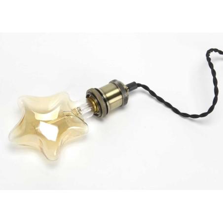 Ampoule déco étoile vintage e27