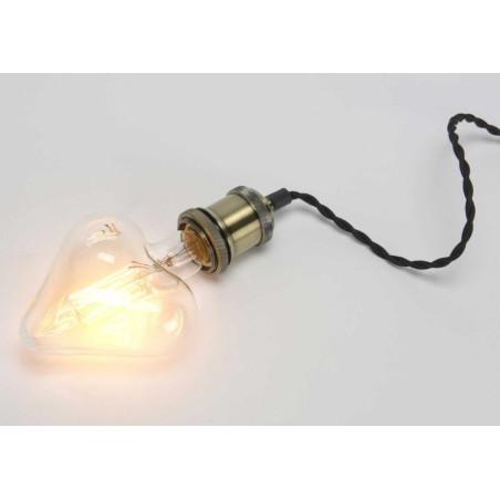 Ampoule déco cœur vintage e27