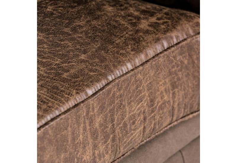 Fauteuil Chesterfield chocolat