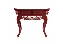 Console chinoise rouge TAIPEL