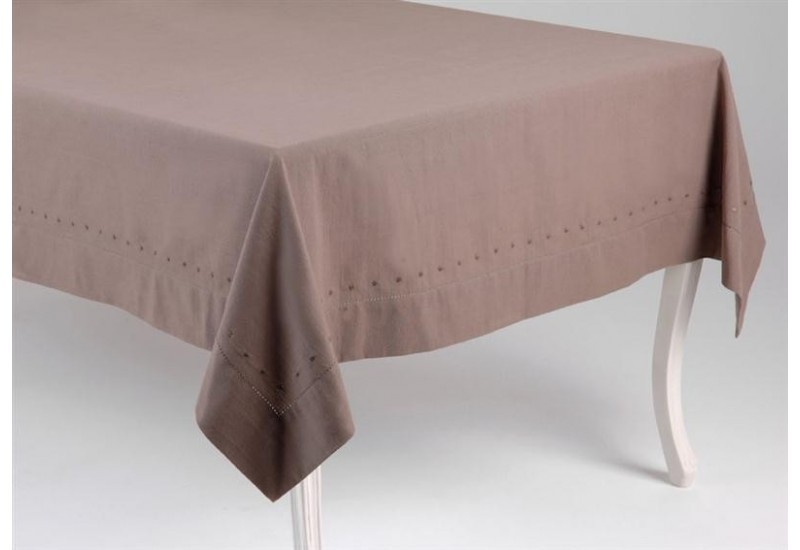 Nappe 150X150 Taupe