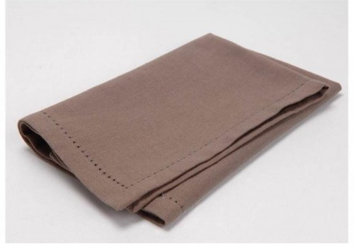 Serviette De Table Taupe  AMADEUS
