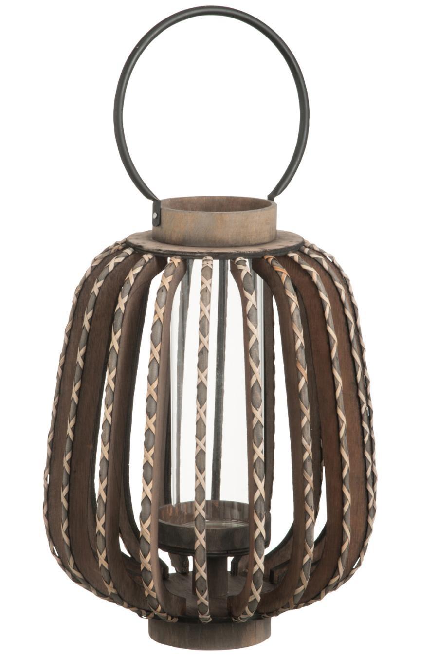 Lanterne naissance du Christ LxHxP 185x230x185mm Nouveau holzlaterne Photophore électrique